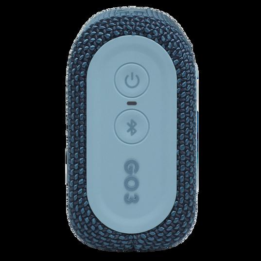 JBL Go 3 - Blue - Portable Waterproof Speaker - Right