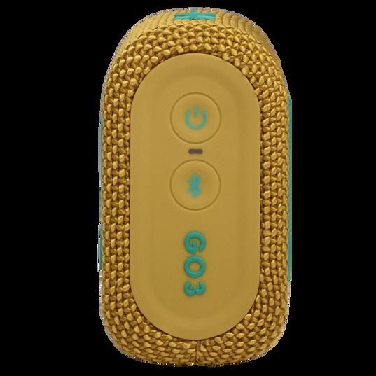 JBL Go 3 - Yellow - Portable Waterproof Speaker - Right