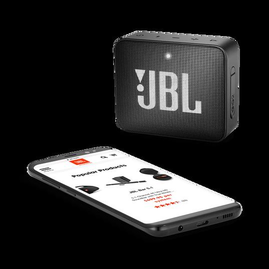 JBL GO 2 - Black - Portable Bluetooth speaker - Detailshot 3