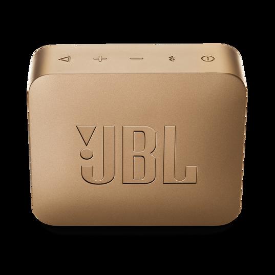 JBL GO 2 - Champagne - Portable Bluetooth speaker - Back