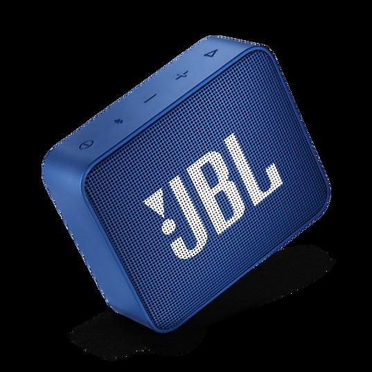 JBL GO 2 - Blue - Portable Bluetooth speaker - Detailshot 1