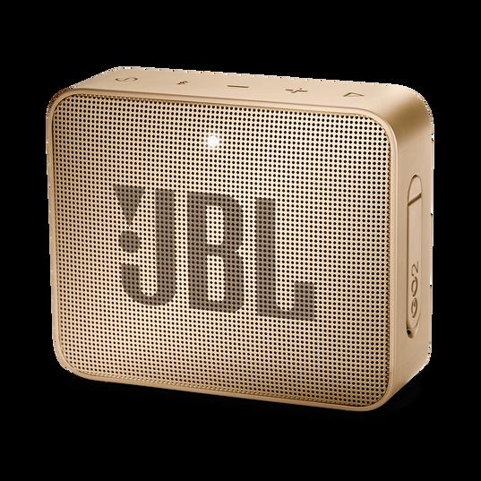 JBL GO 2 - Champagne - Portable Bluetooth speaker - Hero