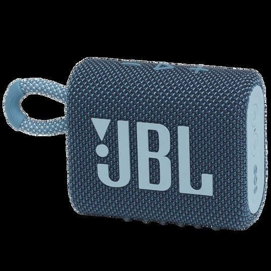 JBL Go 3 - Blue - Portable Waterproof Speaker - Hero