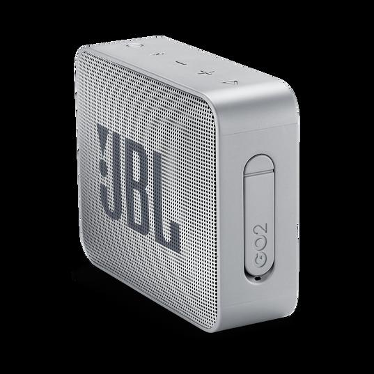 JBL GO 2 - Ash Gray - Portable Bluetooth speaker - Detailshot 1
