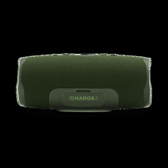JBL Charge 4 - Forest Green - Portable Bluetooth speaker - Back